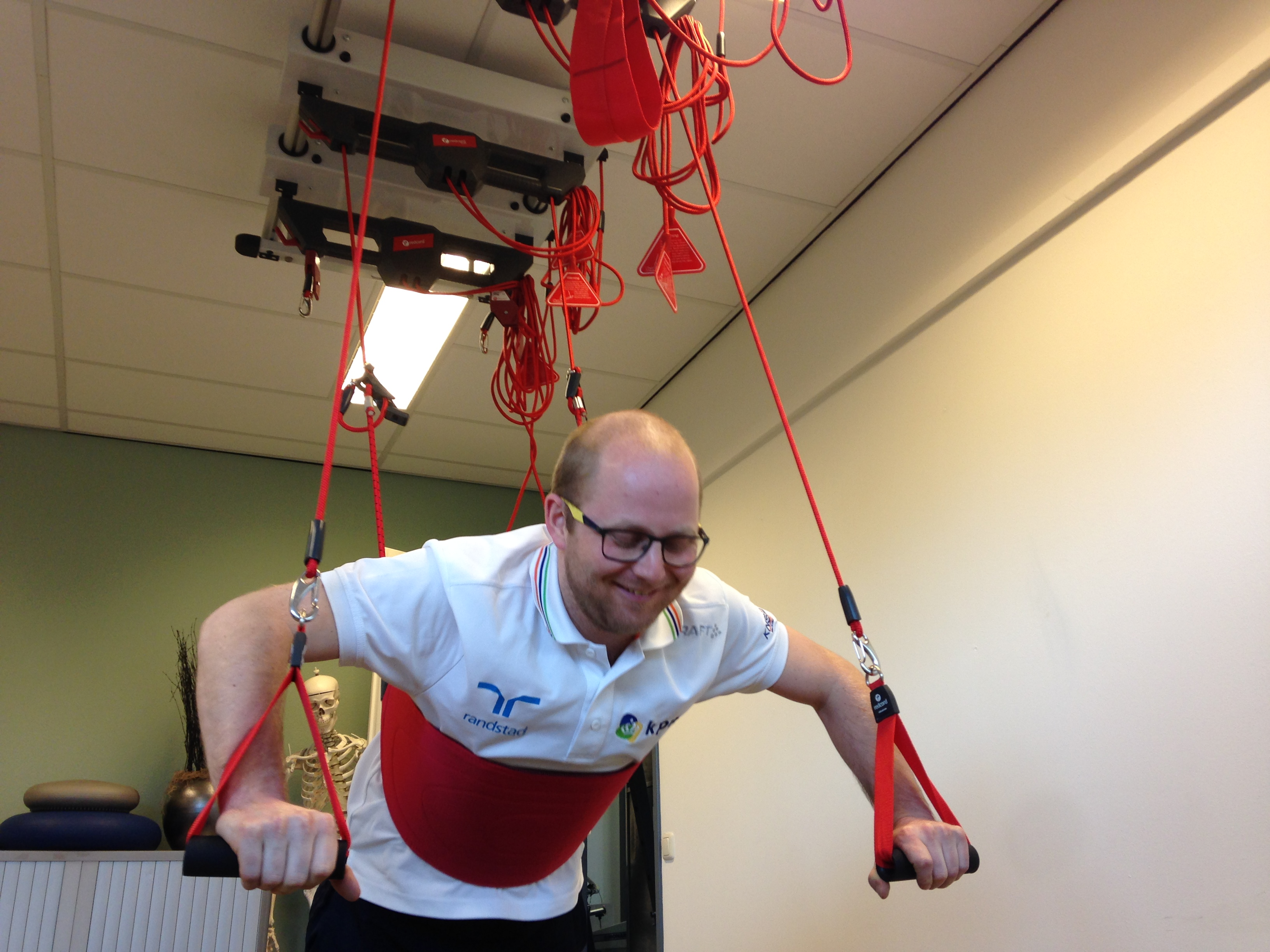 Redcord therapie in De Vesteynde